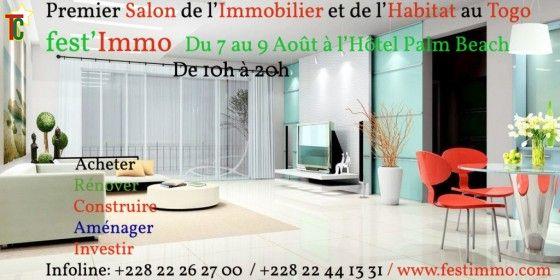 Togo: 1er Salon International de l'Immobilier et de l'Habitat à Lomé : Festimmo du 7 au 9 août 2015