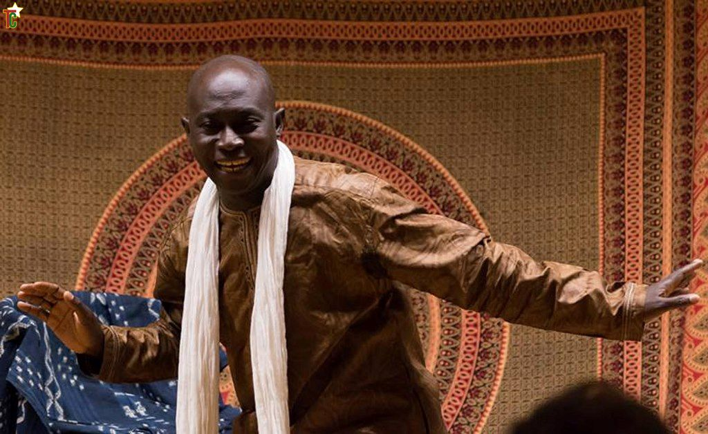 Allassane Sidibé  en France et en Belgique pour conter et parler de Gabité.