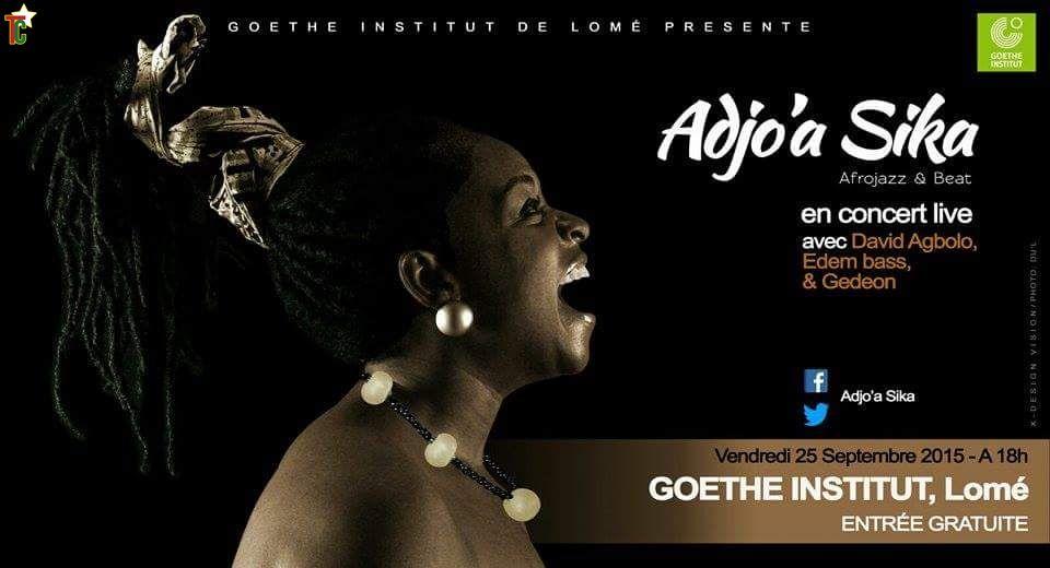 Togo: Adjo'a Sika et Ayeb Kinda en concert live ce vendredi 25 septembre au Goethe Institut de Lomé