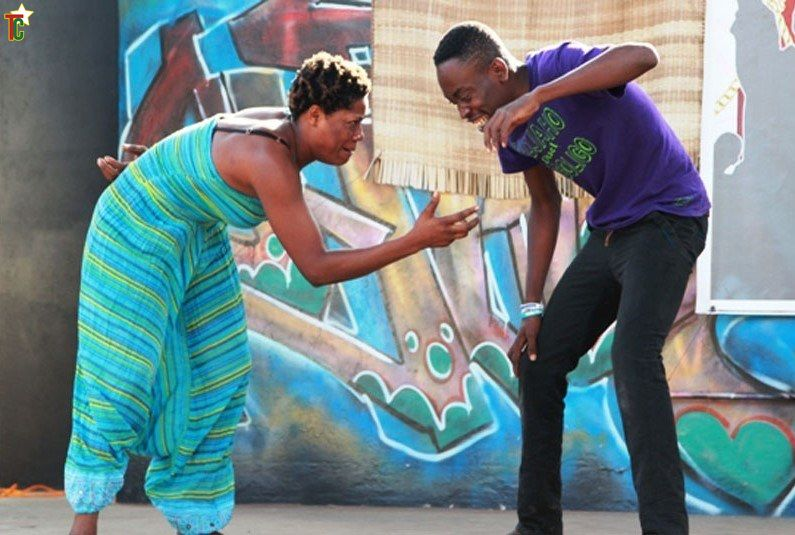 Togo : African Gigolo de Samuel Akpéné Wilsi  au Goethe Institut de Lomé le 9 septembre 2015