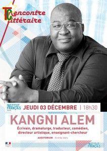 Kangni Alem a l'Institut Français de Cotonou