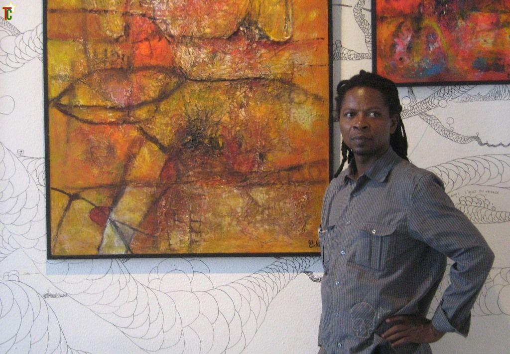 Togo : Emmanuel Kavi, le peintre « flouïste »