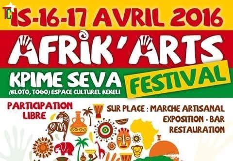 3 questions à l'organisateur Koku Ameada, directeur du festival Afrik'Arts du 15 au 17 avril 2016 à Kpimé Seva