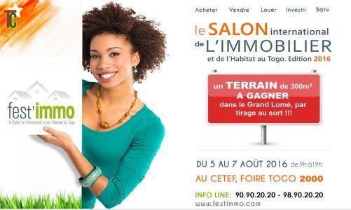 2e édition du Salon international de l'Immobilier et de l'Habitat du Togo en août à la Foire Togo 2000