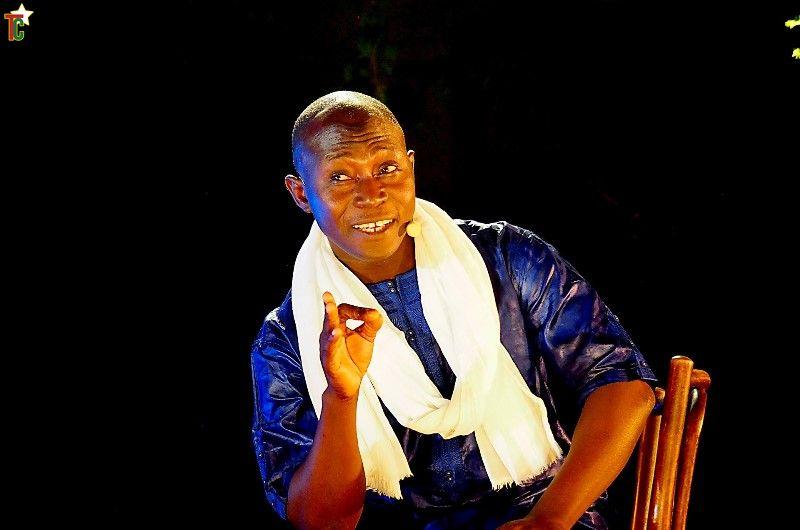 Allassane Sidibé un conteur à l'agenda estival très chargé