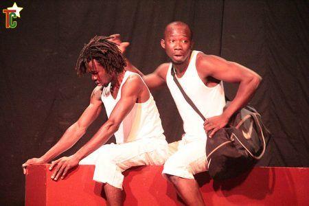 Mélancolo avec Basile Yawanké et David Ganda - Crédit photo: Site de David Ganda