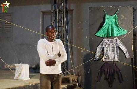 Junior Esseba, Camerounais : « Je travaille sur Camp Sud, une œuvre du Togolais Joël Ajavon sur l'immigration »