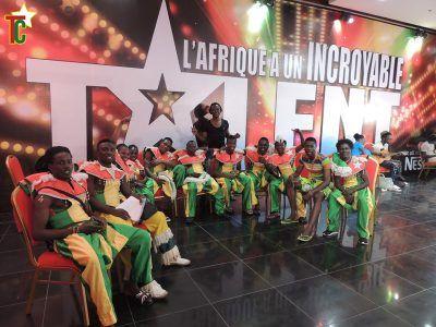 Le groupe de ballets Amlima du Togo Photo: Yod Edoh