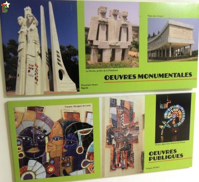 Togo Exposition : Paul Ahyi ou la joie de vivre