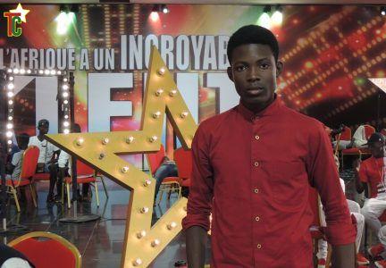 Speezy le jeune chanteur togolais à l'Afrique a un incroyable talent Photo: Yod Edoh