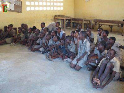 Une vue des élèves du projet Nyagbé
