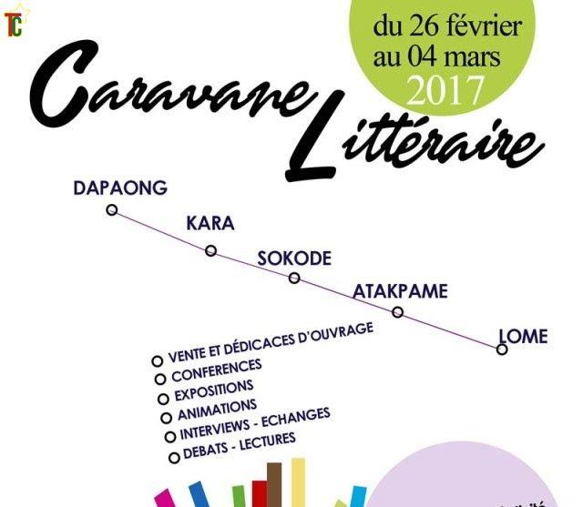 Caravane littéraire dans  cinq régions du Togo