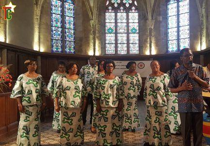 La Chorale Harmonie en accord avec le Togo et la France
