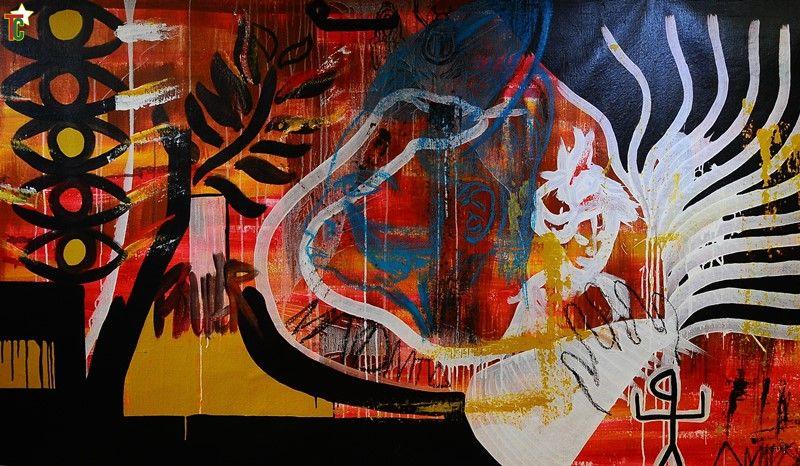 Exposition : Art'borescence à l'Ambassade du Togo à Paris pour faire rêver et adoucir le quotidien harassant